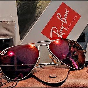 Hot Pink RayBan Sunglasses